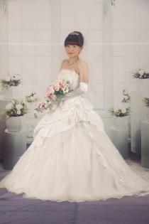 日野さん白ドレス ②